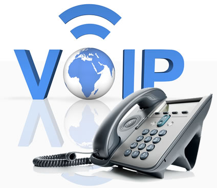 Example image of a VoIP phone